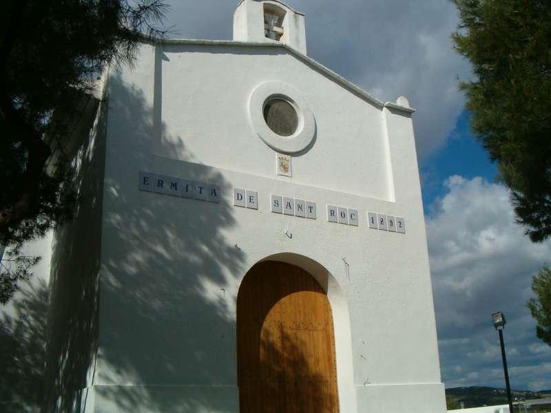 Ermita de San Roque, inaugurada el 1892. / EPDA