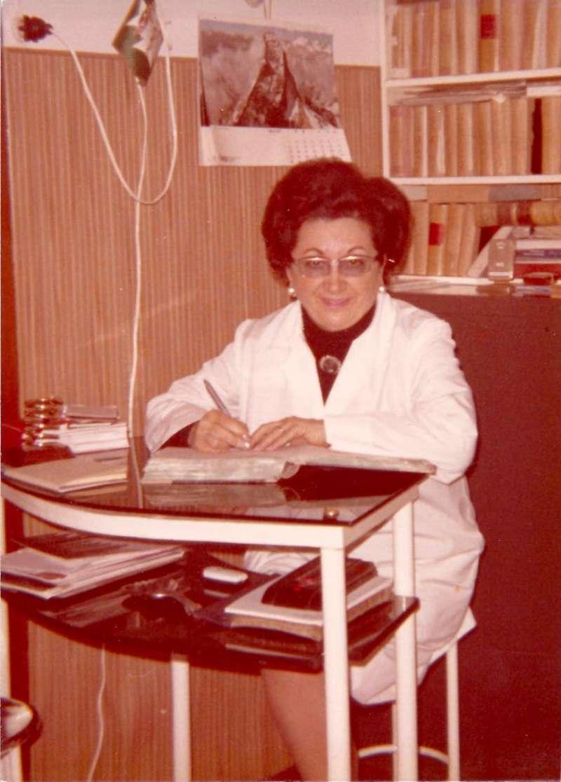 Carmen Piera Cebrià com a universitària.