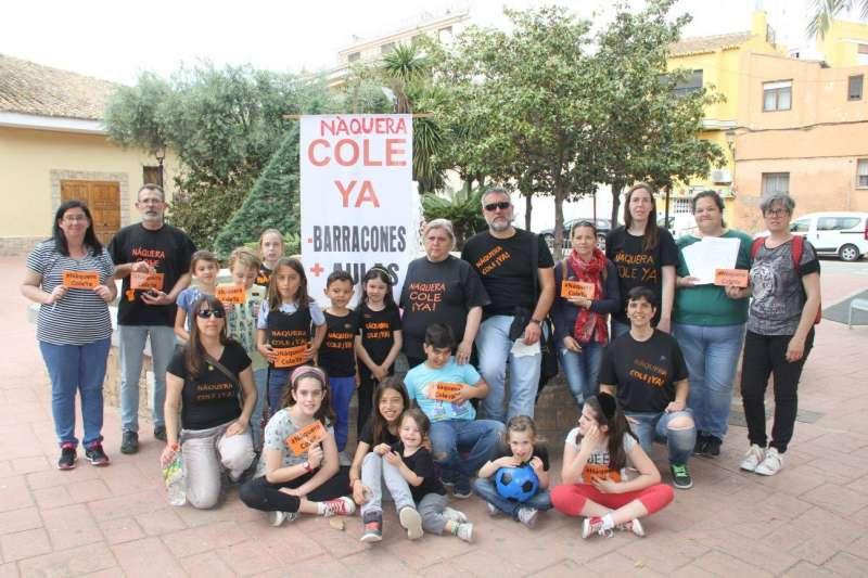 Familias concentradas del CEIP Emilio Lluch de Nàquera