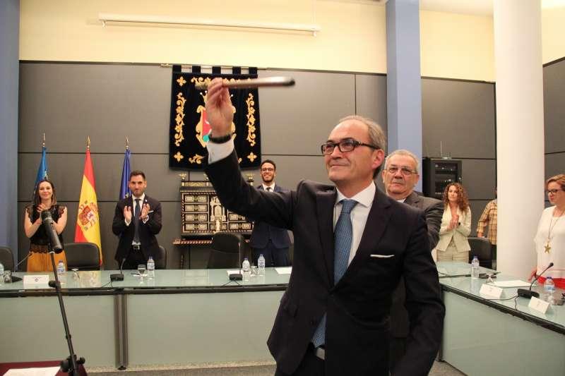Ximo Segarra, alcalde de Benaguasil. / epda