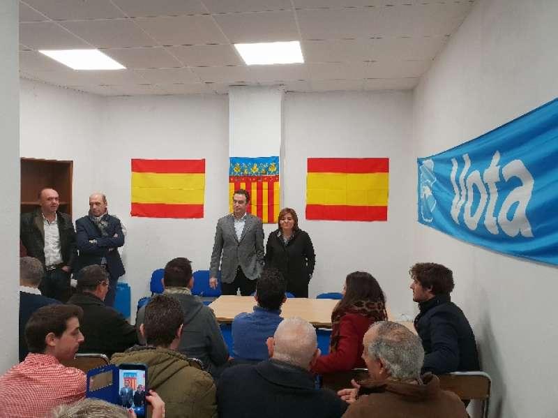 Bonig y Berasaluce en la nueva sede