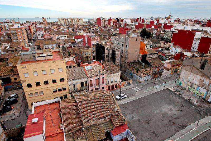 Barrio del Cabanyal. / EFE