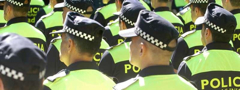 Policías locales. / EPDA