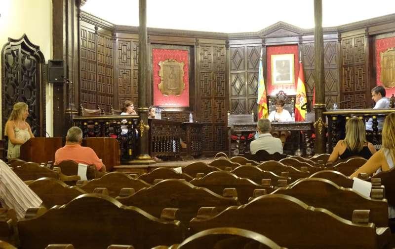 Pleno Segorbe. Foto: Archivo