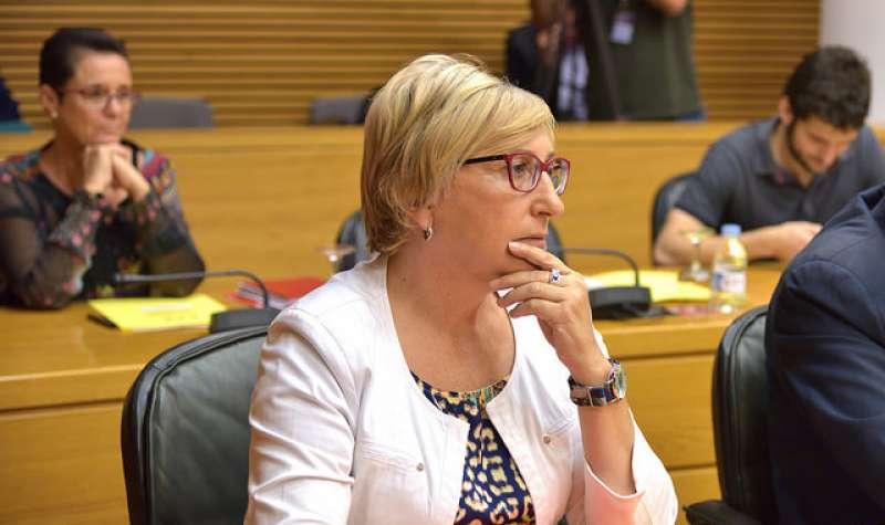 La portavoz de la comisión, Ana Barceló