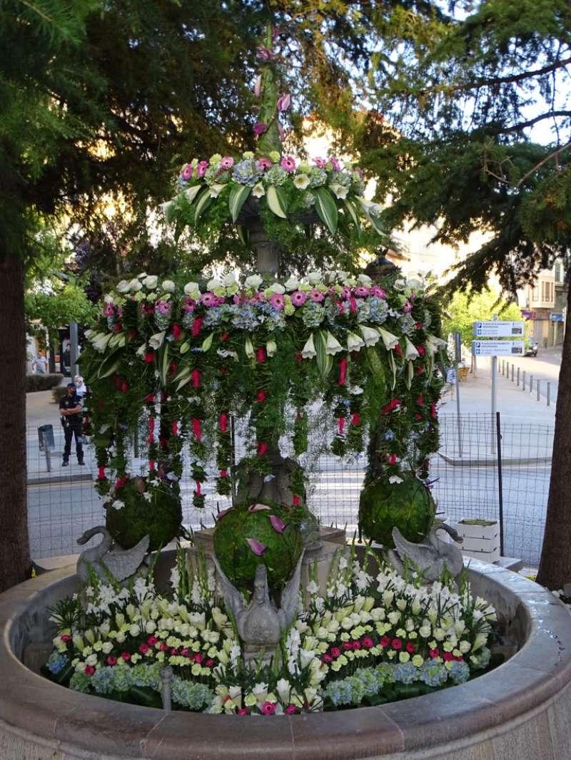 Decoración floral de Requena