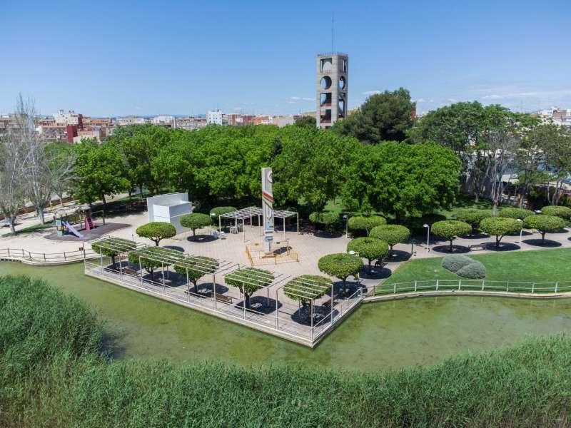 Parc de les Barraques de Catarroja. EPDA