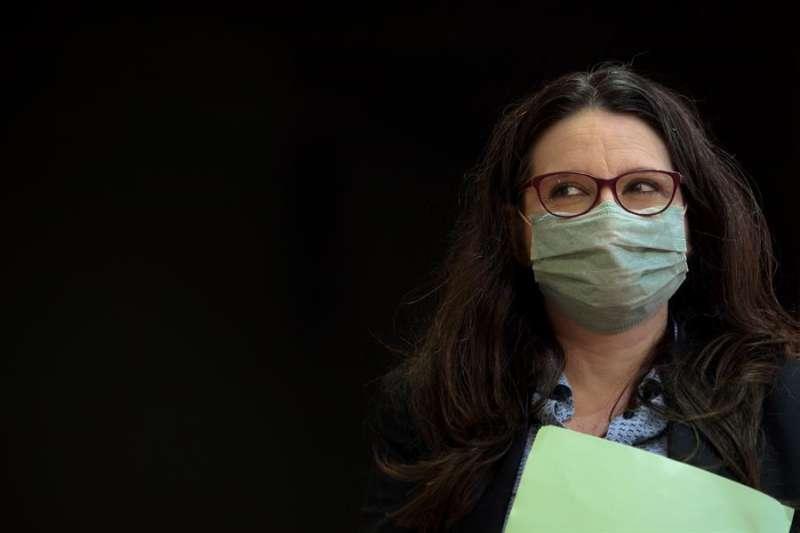 La vicepresidenta del Consell, Mónica Oltra. EFE/Biel Aliño/Archivo