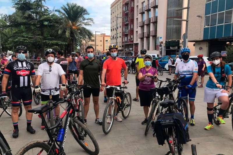 Passeig en bicicleta a Sagunt. / EPDA