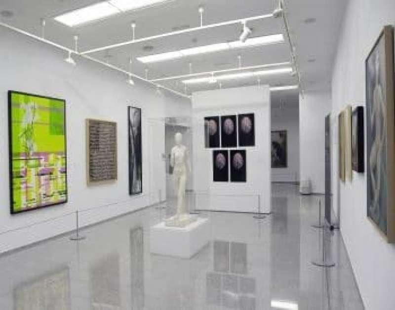 Imagen de la sala de Exposiciones Glorieta de su propia web.