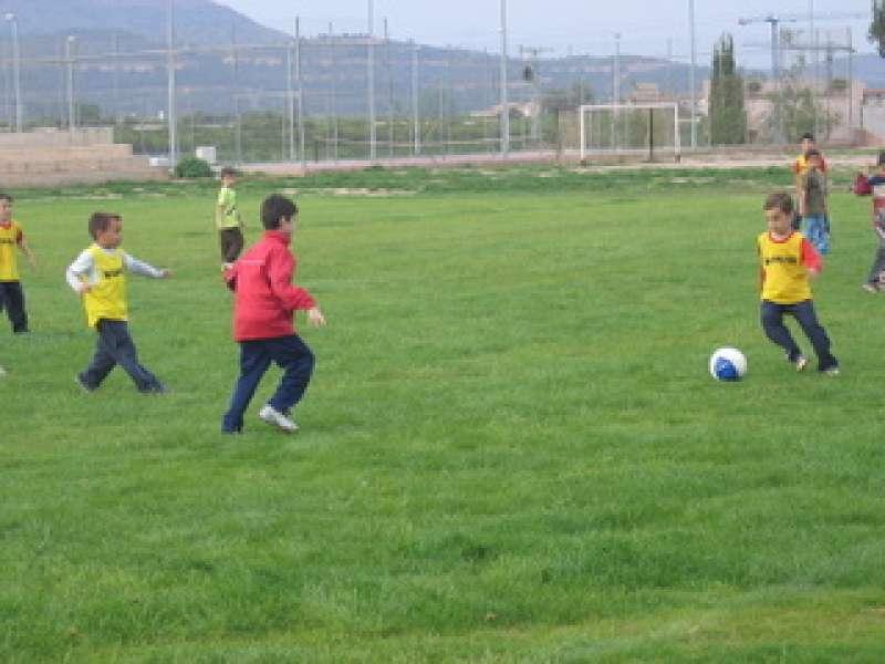 Campo de fútbol de Benifairó de les Valls. EPDA