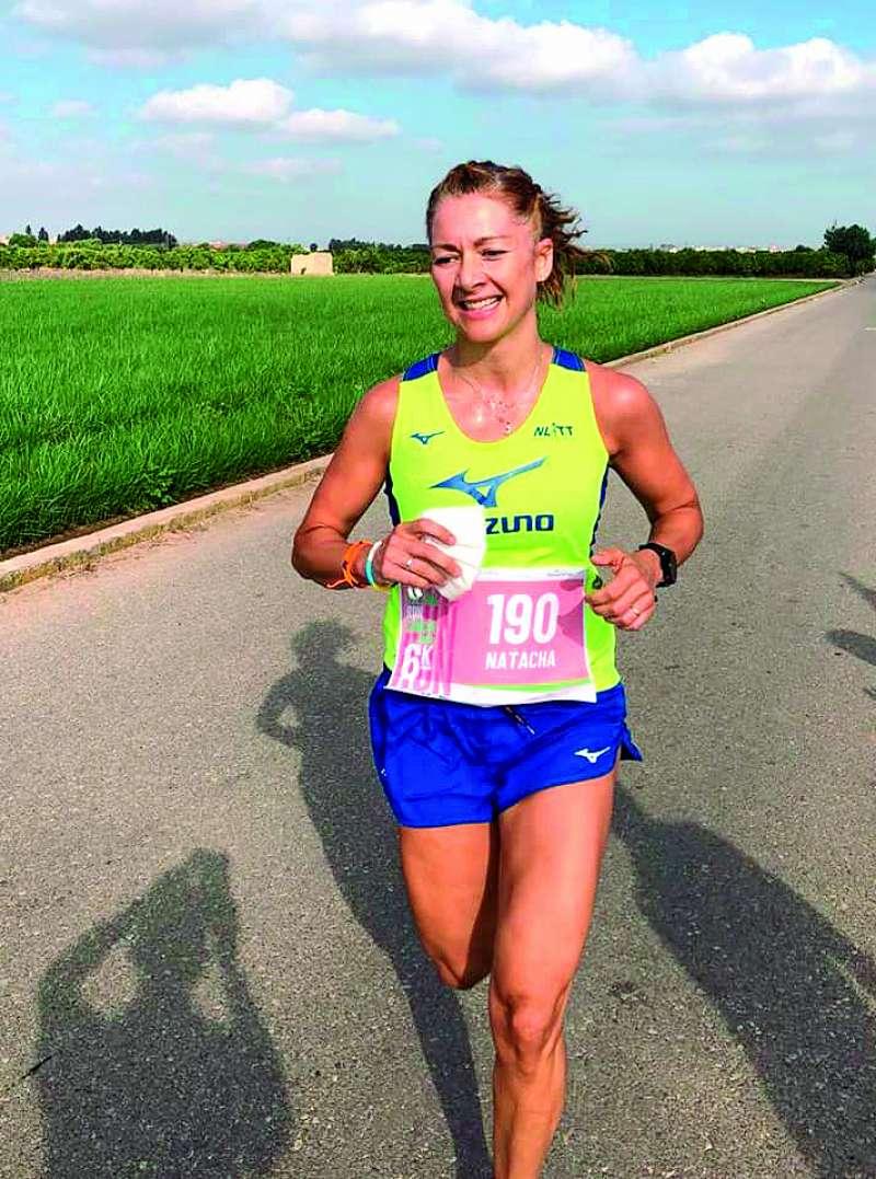La atleta Natacha López. EPDA