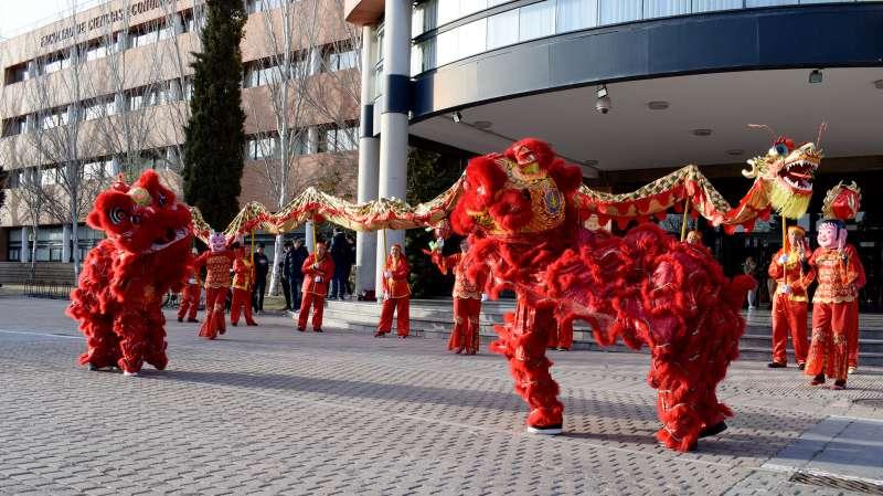 Imagen archivo del año nuevo Chino EPDA