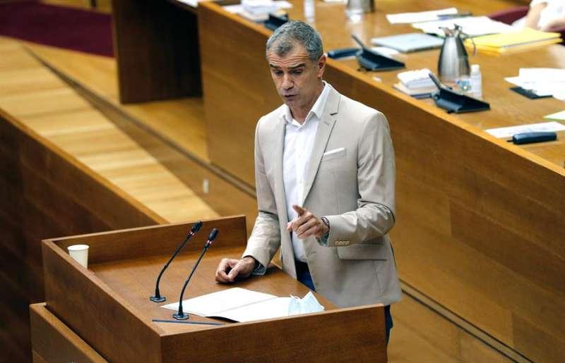 El portavoz de Ciudadanos en Les Corts, Toni Cantó. EFE