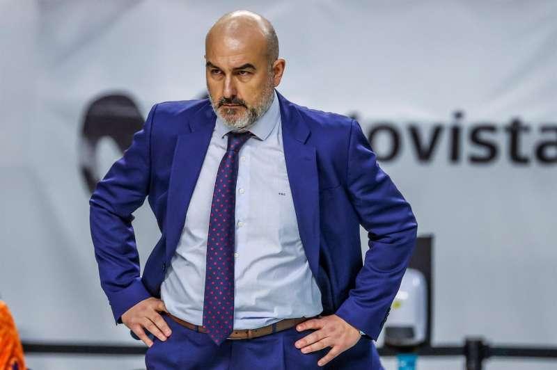 El ya ex entrenador del Valencia Basket, Jaume Ponsarnau. EFE