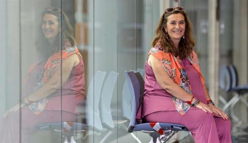La fiscal de Violencia de Género, Susana Gisbert, en la entrevista con EFE
