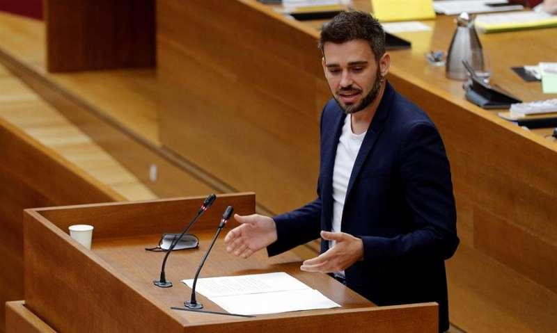 El portavoz de Compromís en Les Corts, Fran Ferri. EFE