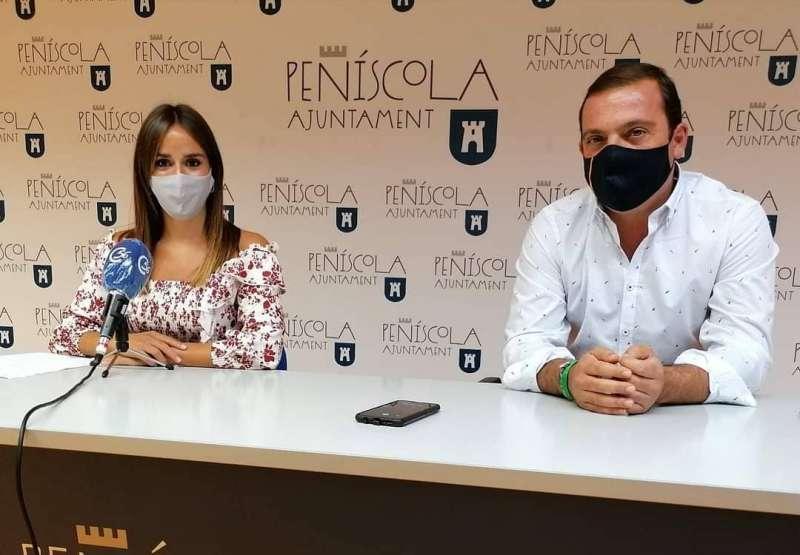 Alcalde y Concejala de Peñíscola