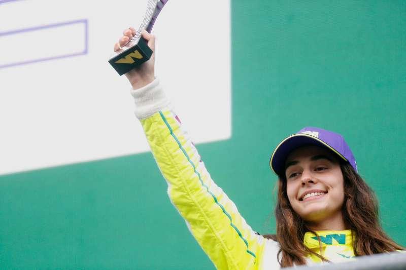 La piloto de automovilismo, Marta García. EPDA
