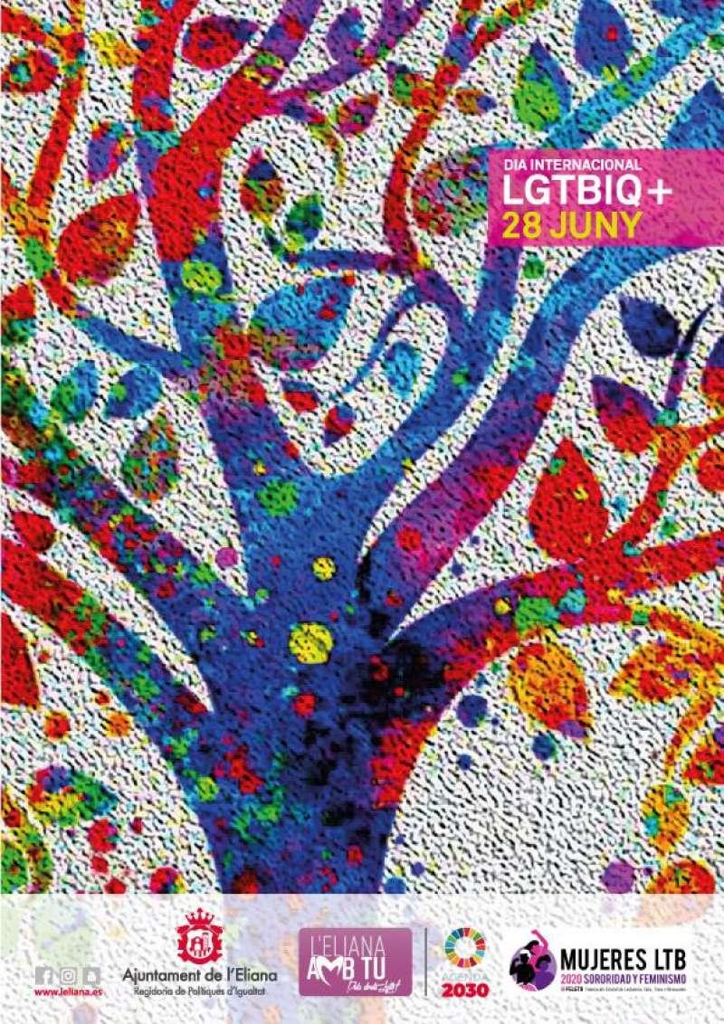 Cartel LGTBI de L