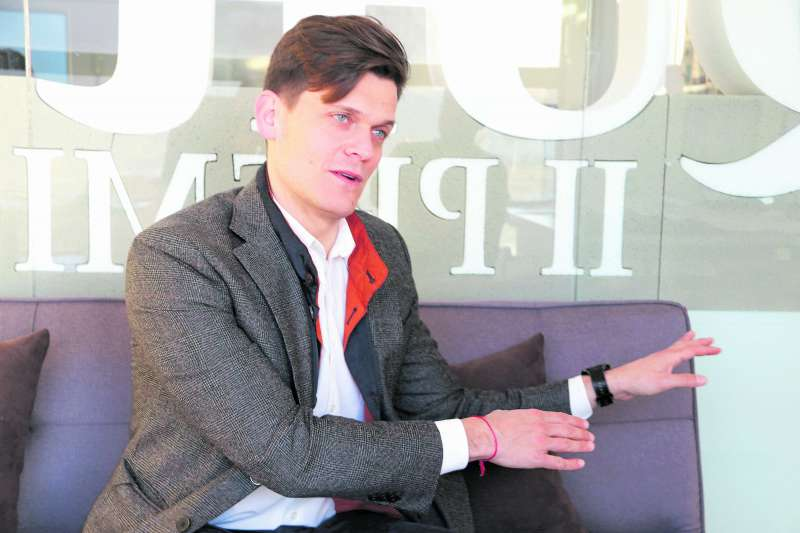 Jorge Fabuel, candidato del PP en Gilet. EPDA