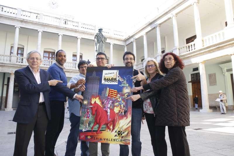 Presentación nueva cita con el Salón del Cómic en València. -EPDA