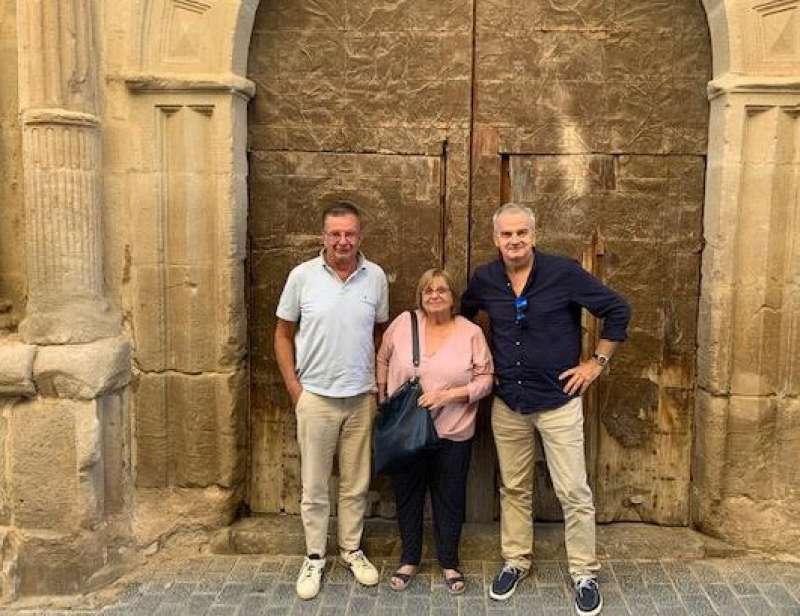 Visita a la iglesia del Socós en Jérica