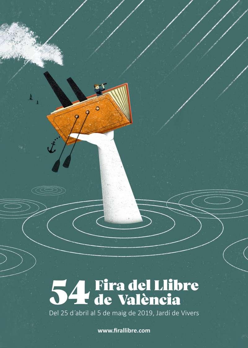 Cartel Fira del Llibre de València