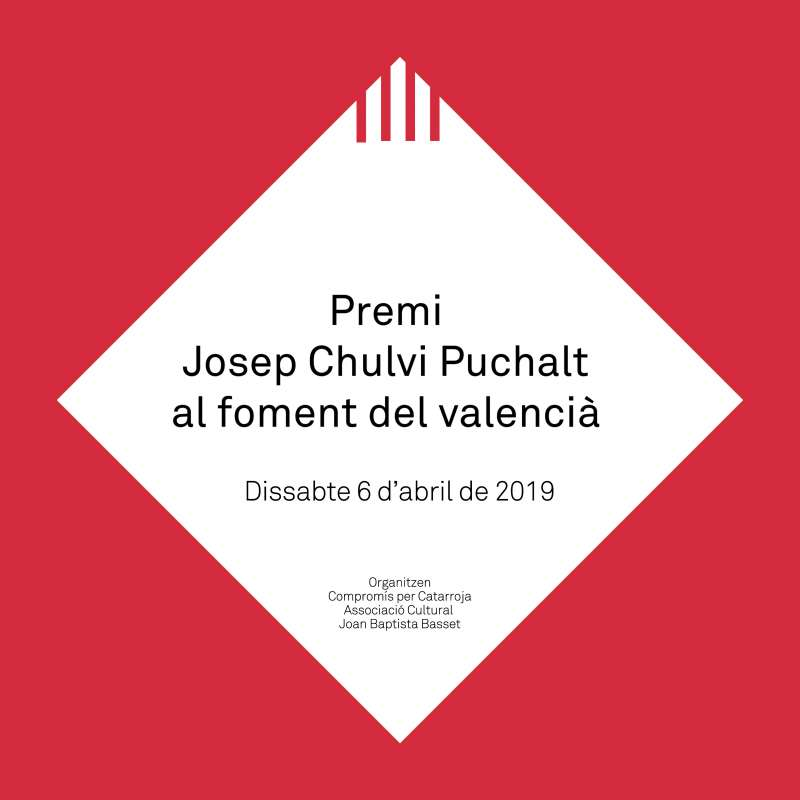 Cartell del Premis Josep Chulvi