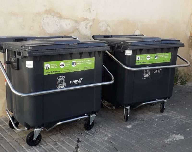Nuevos contenedores de carga trasera