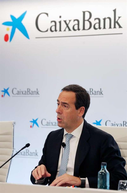 El consejero delegado de CaixaBank, Gonzalo Gortázar. EFE/Kai Försterling/Archivo