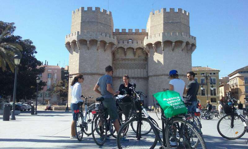 Turismo con bicicleta en València. EPDA
