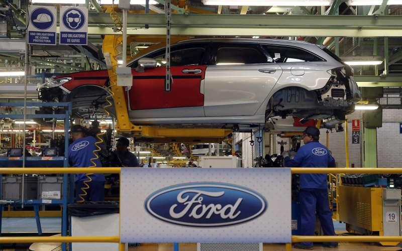 Vista de la planta de Almussafes (Valencia) de Ford España