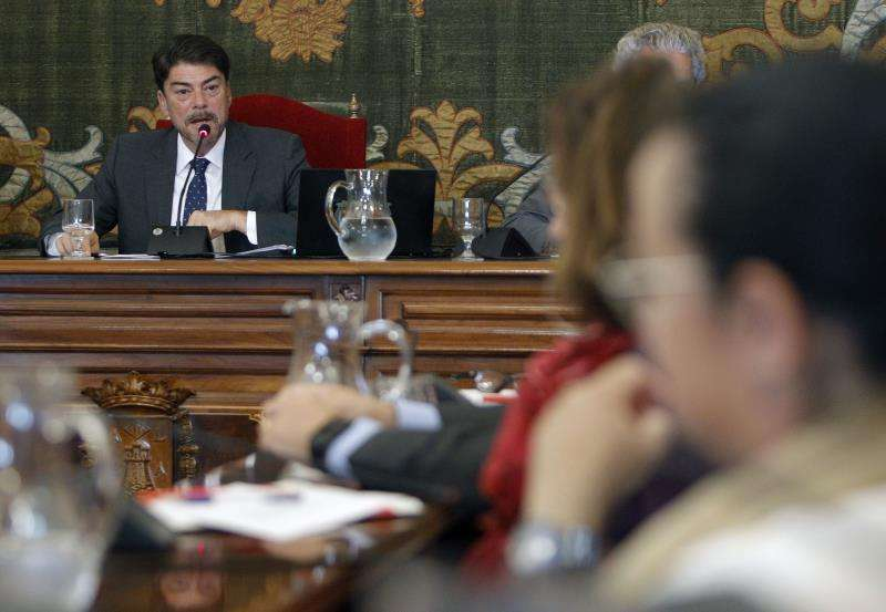 El alcalde de Alicante, Luis Barcala. EFE/Archivo