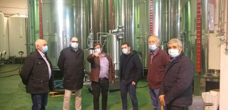Visita a la Cooperativa Oleícola