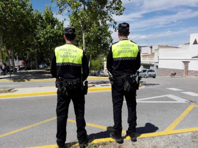 Policía de Sagunt. EPDA