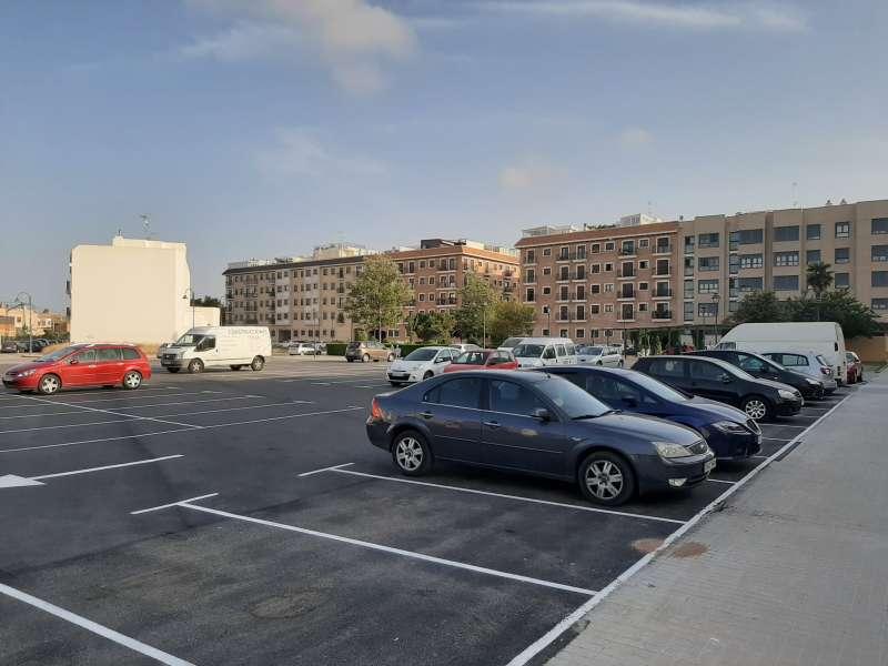 Nou aparcament de Meliana. EPDA