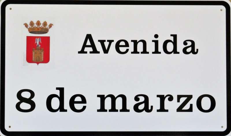 Nuevas placas para las calles de Segorbe