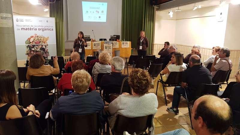 Reunión informativa en Algar del Palància. EPDA