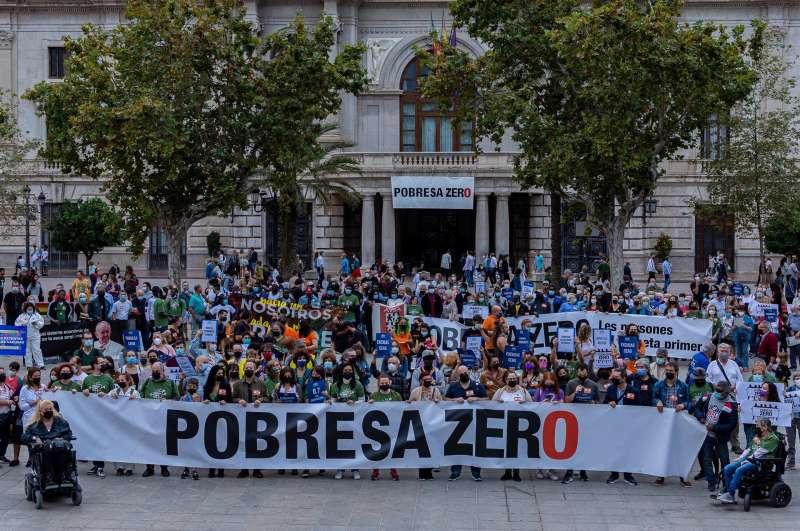 La Campaña Pobresa Zero. EFE/Pobresa Zero