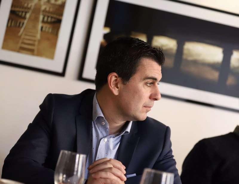 El portavoz del grupo municipal de Ciudadanos (Cs) de Burjassot, Toni Subiela. EPDA