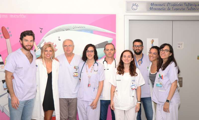 Equipo del Servicio de Urgencias Pediátricas del Hospital La Fe de València. EPDA