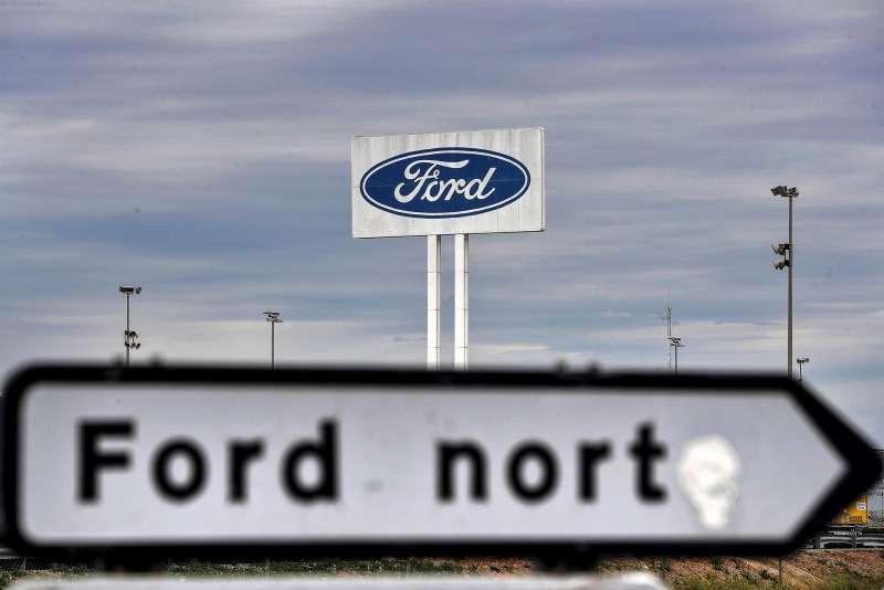 Imagen de archivo del exterior de la planta de Ford en Almussafes.