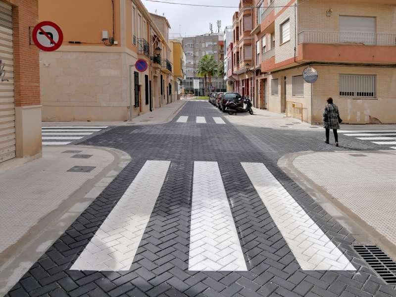 Calle Miguel Monzó de Alboraya. EPDA