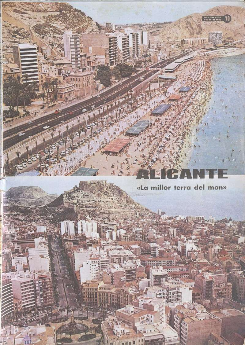 Imagen de la revista Alicante Turismo, facilitada por el IVAM.