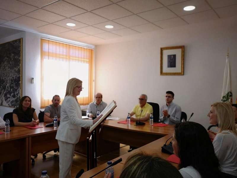Alicia Tusón, alcaldesa de Serra. / epda
