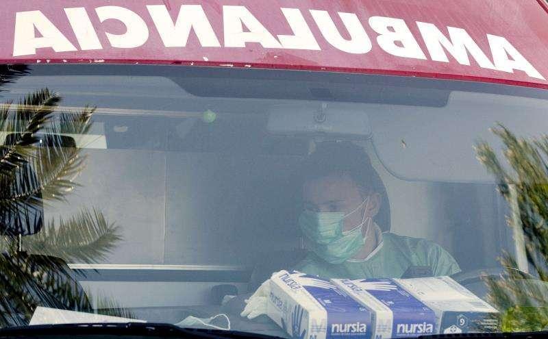 Imagen de una ambulancia. -EPDA