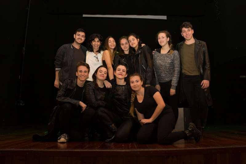 Actores de la representación