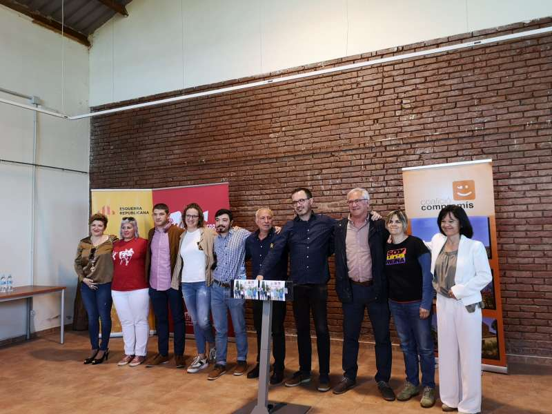 Presentació de la candidatura de Junts per Faura. EPDA