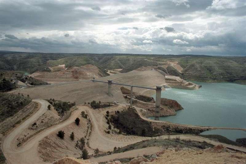 Imagen de la presa de Tous (Valencia). EFE